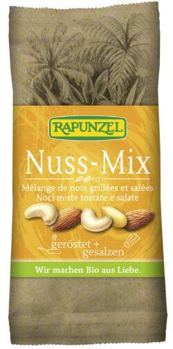 Rapunzel Nuss-Mix geröstet, gesalzen 10x60g