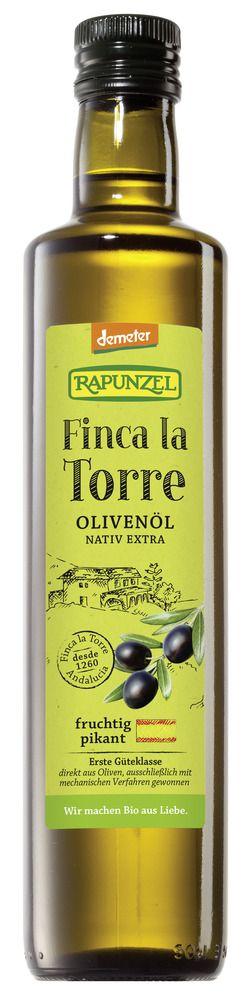 Rapunzel Olivenöl Finca la Torre, nativ extra, demeter 6x0,5l