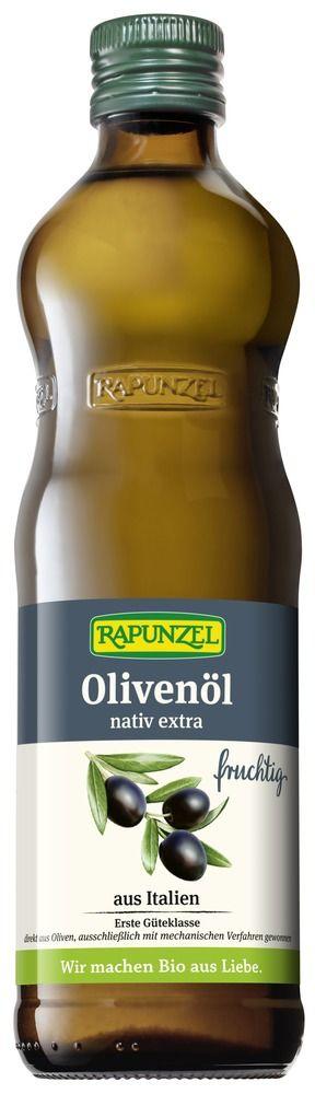 Rapunzel Olivenöl fruchtig, nativ extra 6x0,5l
