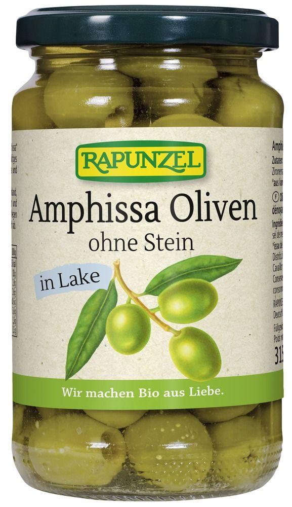 Rapunzel Oliven Amphissa grün, ohne Stein in Lake 6x315g