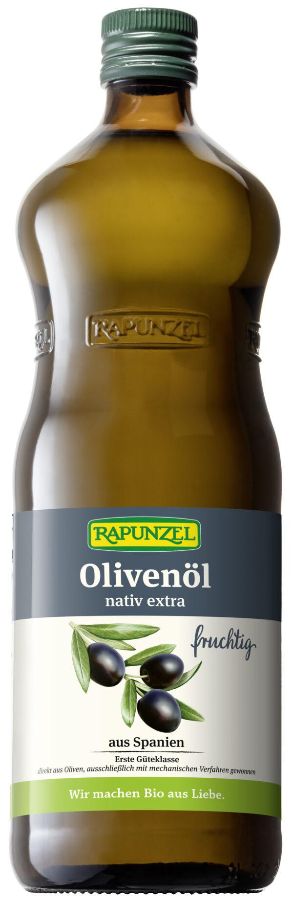 Rapunzel Olivenöl fruchtig, nativ extra 1l