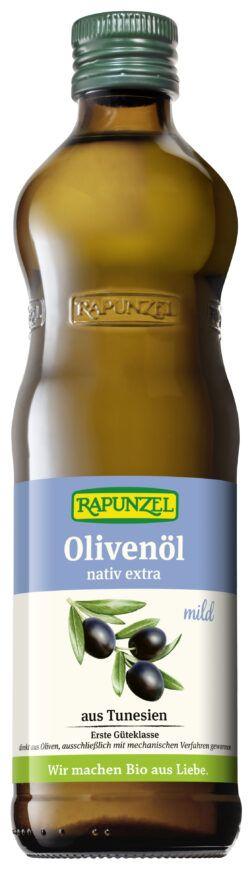 Rapunzel Olivenöl mild, nativ extra 0,5l