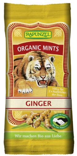 Rapunzel Organic Mints Ginger HIH 100g