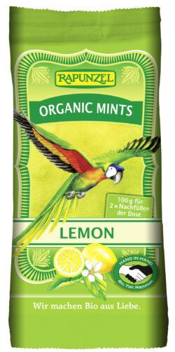 Rapunzel Organic Mints Lemon HIH 8x100g