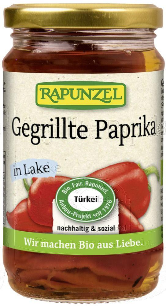 Rapunzel Paprika gegrillt rot, in Lake, Projekt 6x310g