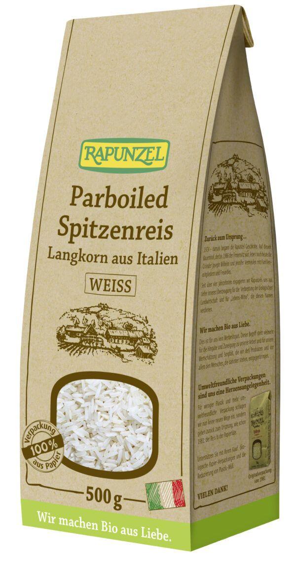 Rapunzel Parboiled Spitzenreis Langkorn weiß 6x500g