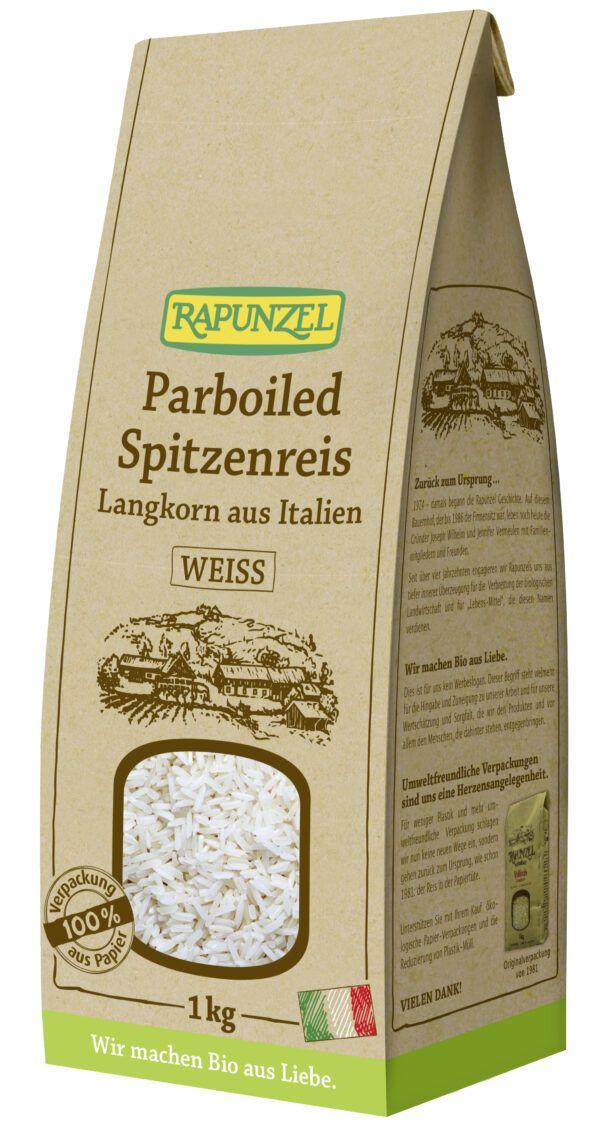 Rapunzel Parboiled Spitzenreis Langkorn weiß 6x1kg