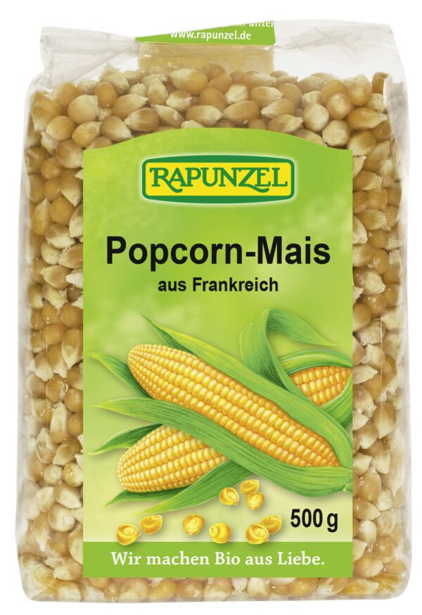 Rapunzel Popcorn-Mais 500g
