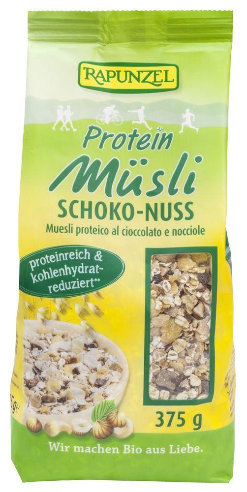 Rapunzel Protein-Müsli Schoko-Nuss 6x375g