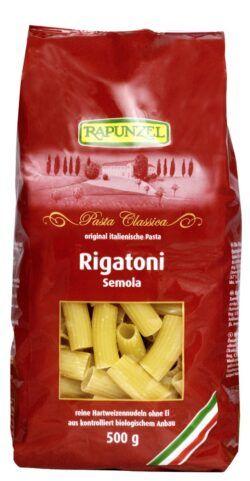 Rapunzel Rigatoni Semola 12x500g