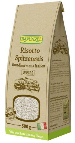 Rapunzel Risotto Rundkorn Spitzenreis'Ribe' weiß 6x500g