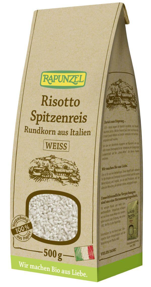 Rapunzel Risotto Rundkorn Spitzenreis 'Ribe' weiß 6x500g