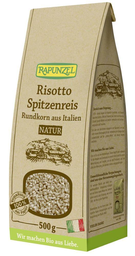 Rapunzel Risotto Rundkorn Spitzenreis 'Ribe' natur / Vollkorn 500g