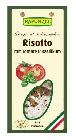 Rapunzel Risotto mit Tomaten und Basilikum 8x250g