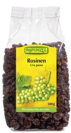 Rapunzel Rosinen, Projekt 8x500g