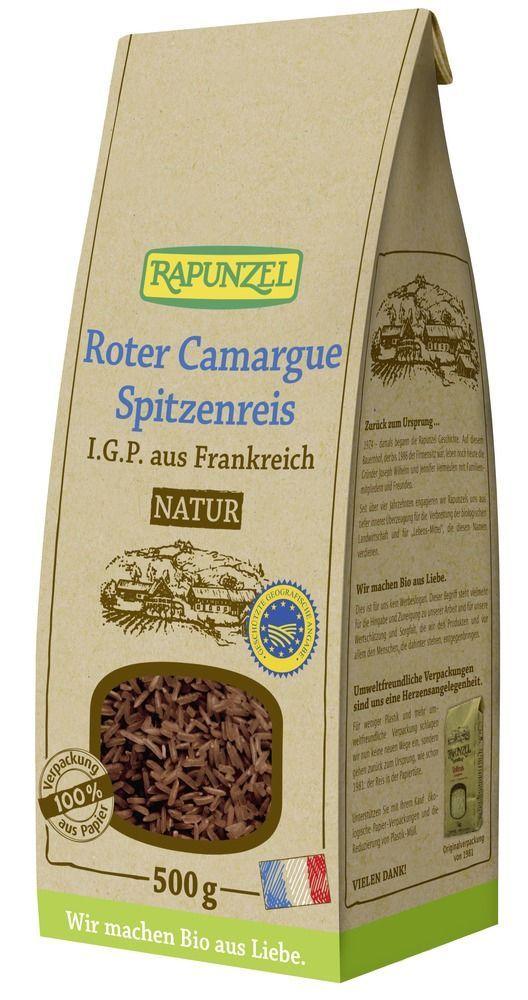 Rapunzel Roter Camargue Spitzenreis natur I.G.P. / Vollkorn 6x500g