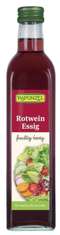 Rapunzel Rotweinessig 6x0,5l