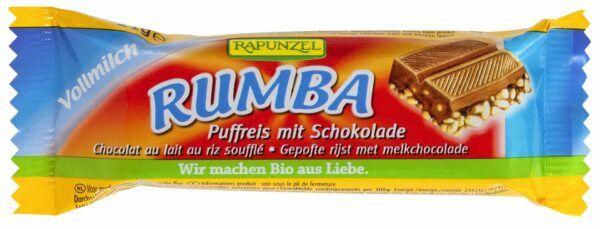 Rapunzel Rumba Puffreisriegel Vollmilch 30x21g