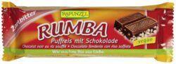 Rapunzel Rumba Puffreisriegel Zartbitter 30x50g
