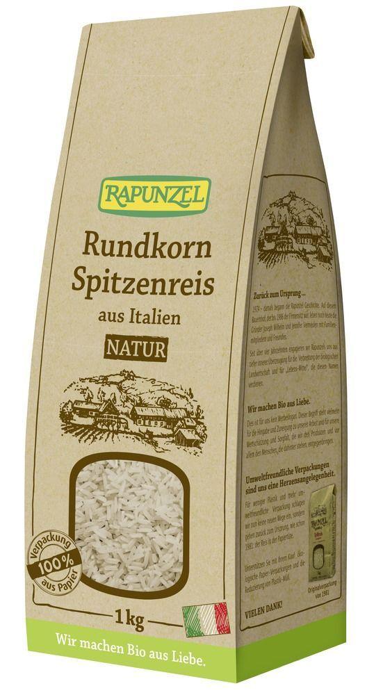 Rapunzel Rundkorn Spitzenreis natur / Vollkorn 6x1kg