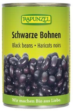Rapunzel Schwarze Bohnen in der Dose 6x400g