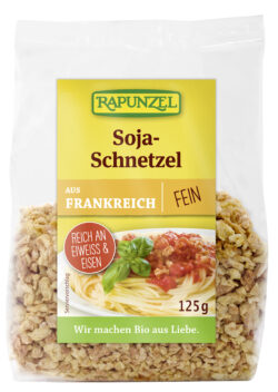 Rapunzel Soja-Schnetzel fein 6x125g