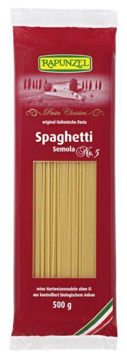 Rapunzel Spaghetti Semola, no.5 12x500g