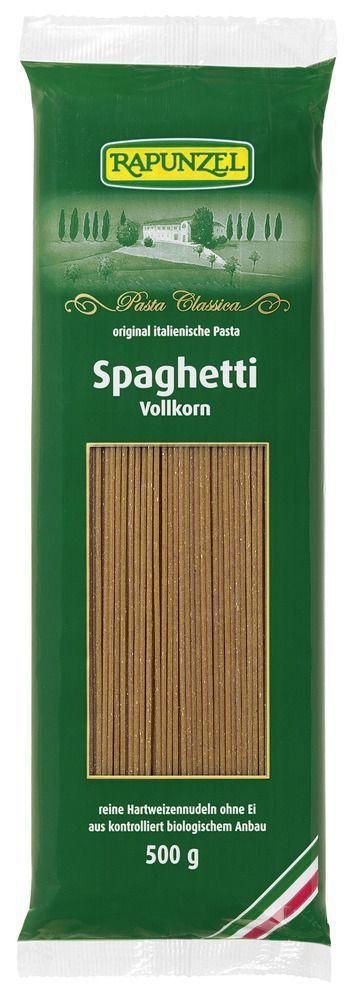 Rapunzel Spaghetti Vollkorn 500g