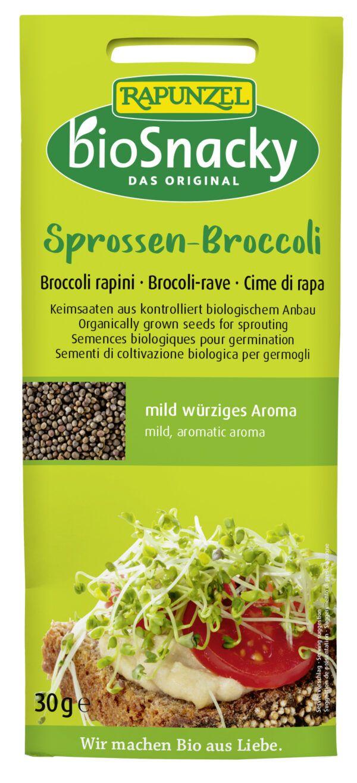 Rapunzel Sprossen-Broccoli bioSnacky 30g