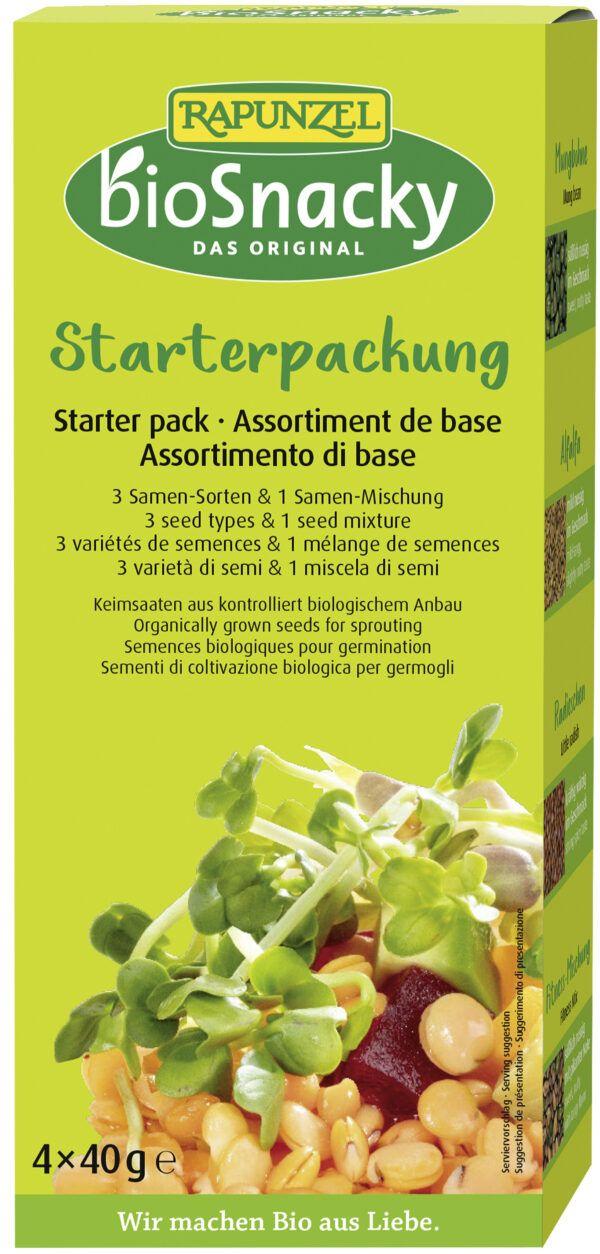 Rapunzel Starter-Packung bioSnacky 4Stück