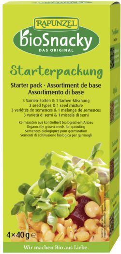 Rapunzel Starter-Packung bioSnacky 4x4Stück