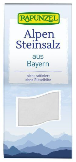 Rapunzel Steinsalz, Bayern 8x500g