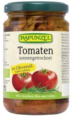 Rapunzel Tomaten getrocknet in Olivenöl, extra saftig 275g