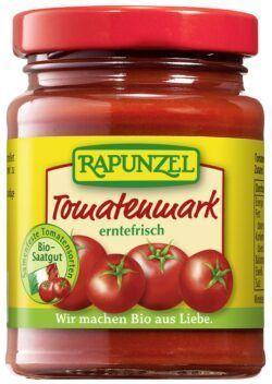Rapunzel Tomatenmark, einfach konzentriert (22% Tr.M.) 12x100g
