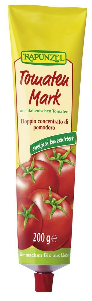 Rapunzel Tomatenmark, zweifach konzentriert (28% Tr.M.) in der Tube 200g
