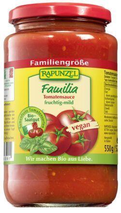 Rapunzel Tomatensauce Familia 6x525ml