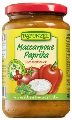 Rapunzel Tomatensauce Mascarpone Paprika 6x330ml