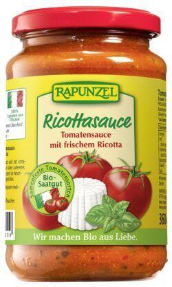 Rapunzel Tomatensauce Ricotta 6x345ml