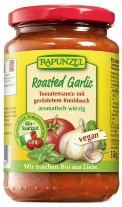 Rapunzel Tomatensauce Roasted Garlic 6x330ml