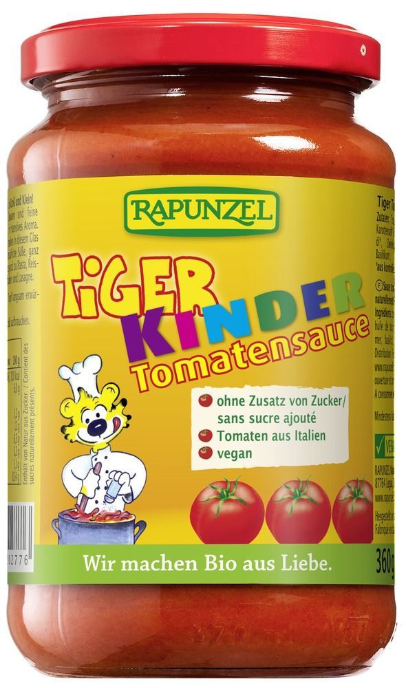 Rapunzel Tomatensauce Tiger 345ml