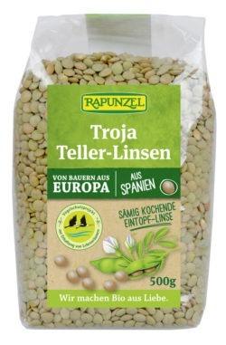 Rapunzel Troja Teller-Linsen (grün bis braun) 6x500g