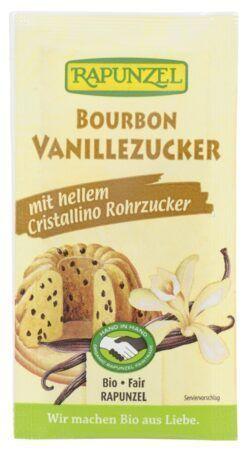 Rapunzel Vanillezucker Bourbon mit Cristallino HIH 14x32g
