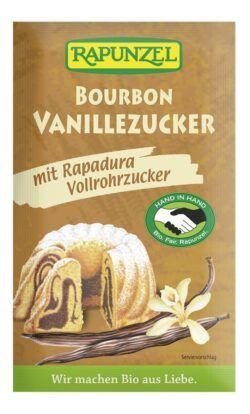 Rapunzel Vanillezucker Bourbon mit Rapadura HIH 30x8g