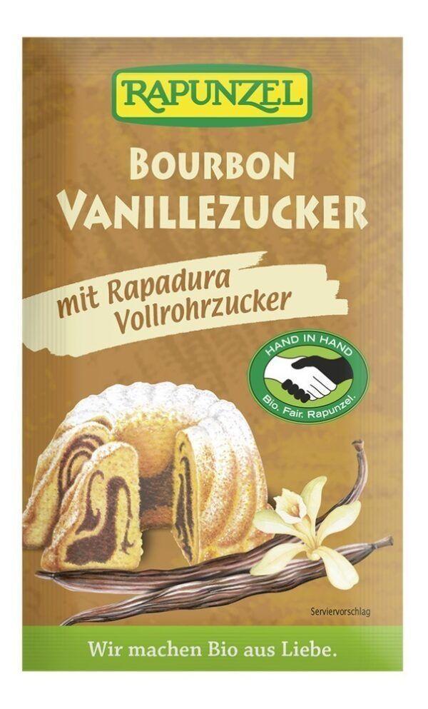 Rapunzel Vanillezucker Bourbon mit Rapadura HIH 8g