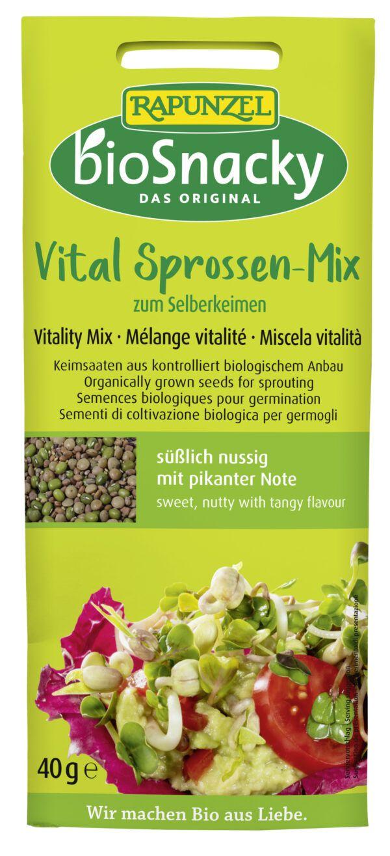 Rapunzel Vital Sprossen-Mix bioSnacky 12x40g