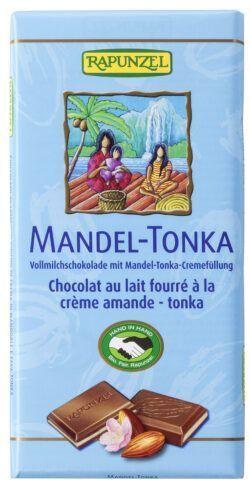 Rapunzel Vollmilch Schokolade Mandel-Tonka HIH 100g