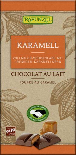 Rapunzel Vollmilch Schokolade mit Karamellfüllung HIH 12x100g