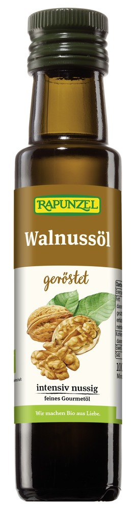 Rapunzel Walnussöl geröstet 4x100ml