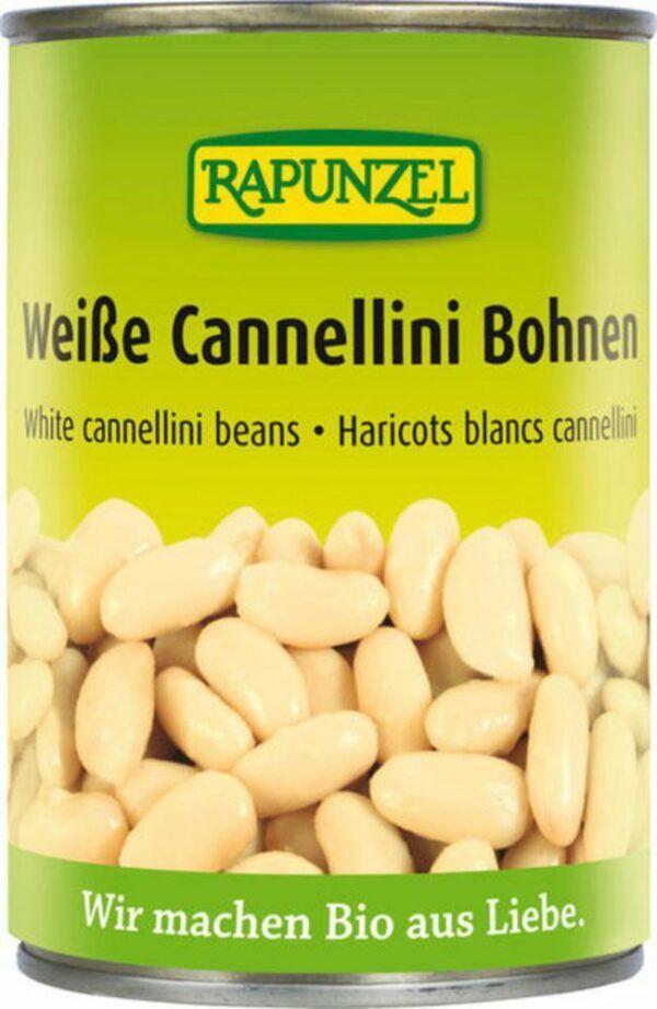 Rapunzel Weiße Cannellini Bohnen in der Dose 6x400g