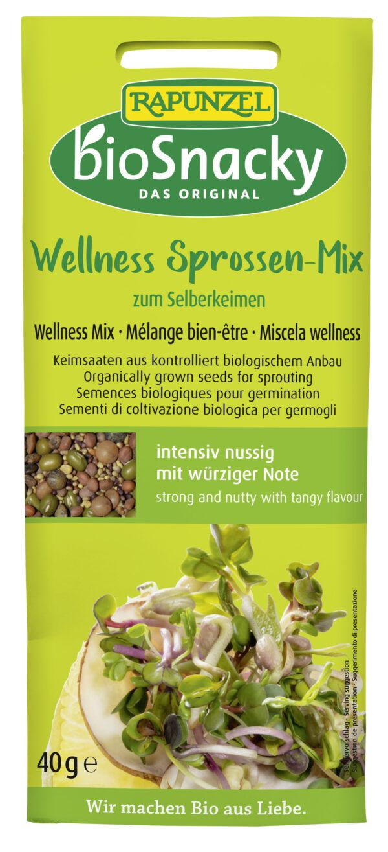 Rapunzel Wellness Sprossen-Mix bioSnacky 12x40g